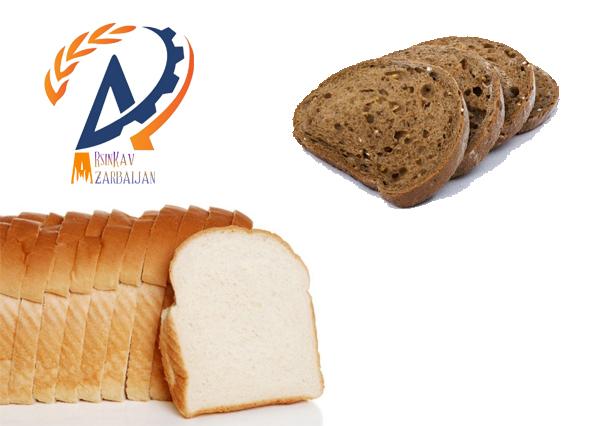 نان سفید و تیره